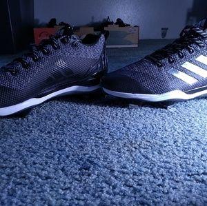 New size 12 Adidas  metal baseballcleats